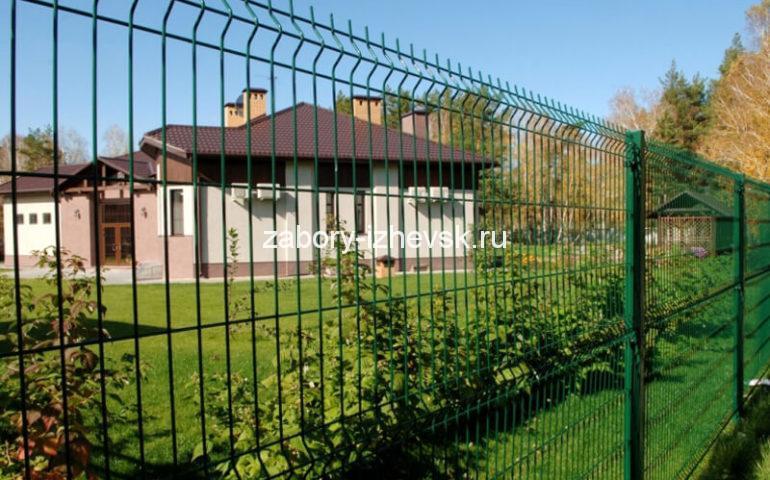3д забор в Ижевске